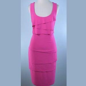 JOSEPH RIBKOFF  sleeveless knit dress size 4